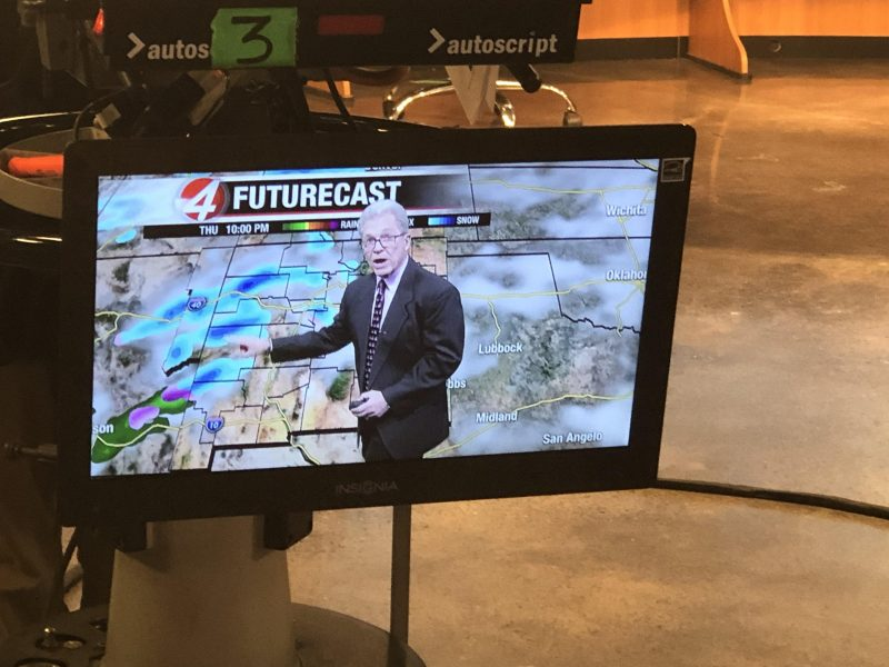 Weather Man on TV