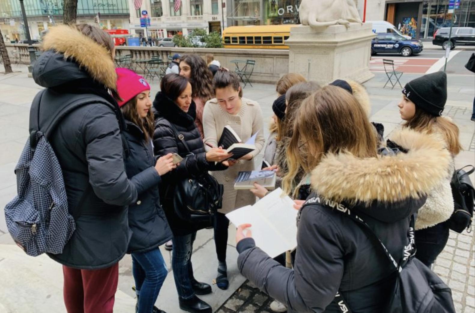 Signing copies