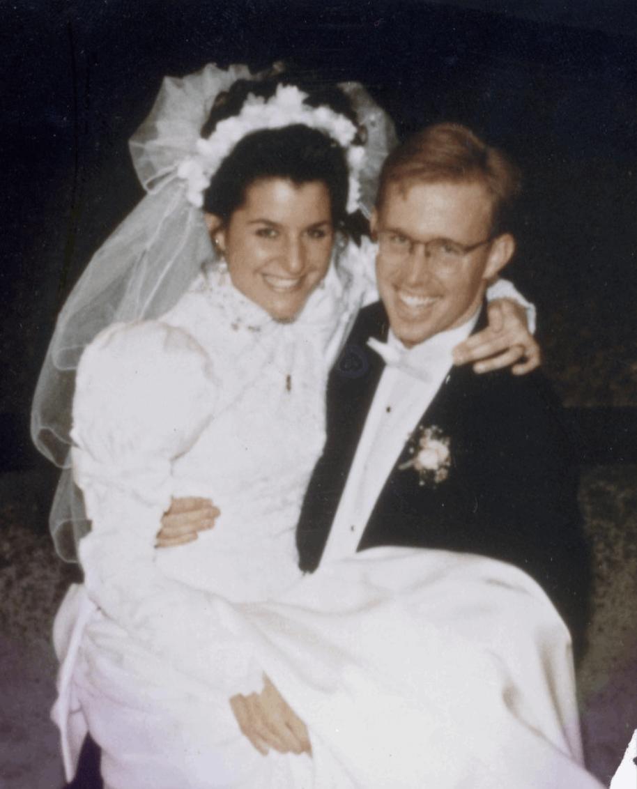 2. Sonja and Mitch's Wedding