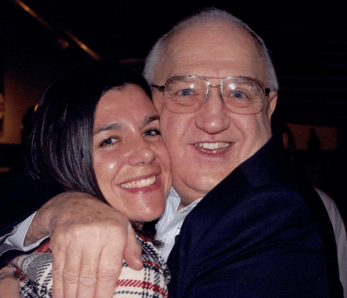 21. Sonja and her Dad