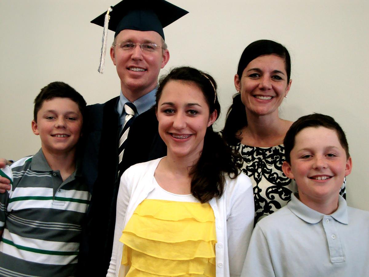 37. Mitch's Doctoral Program Graduation