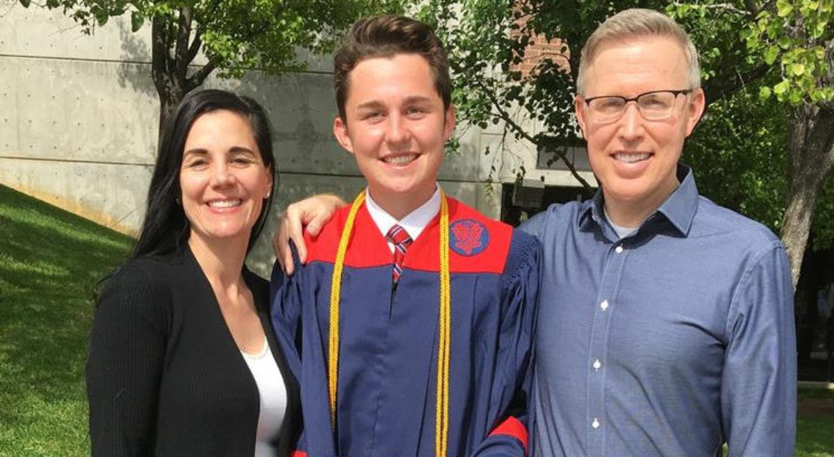 45. Lincoln Graduates from High School in Utah