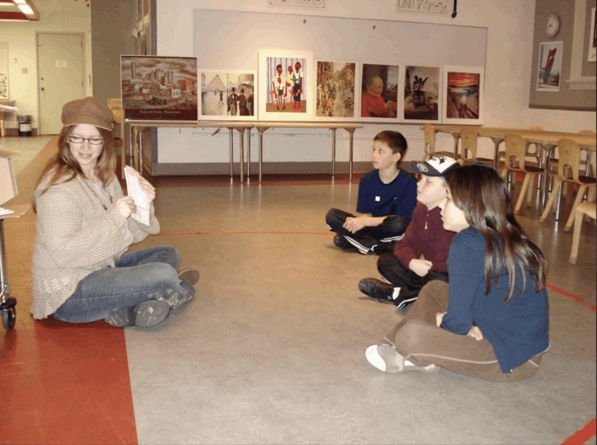 9. Art History Class, Homeschooling
